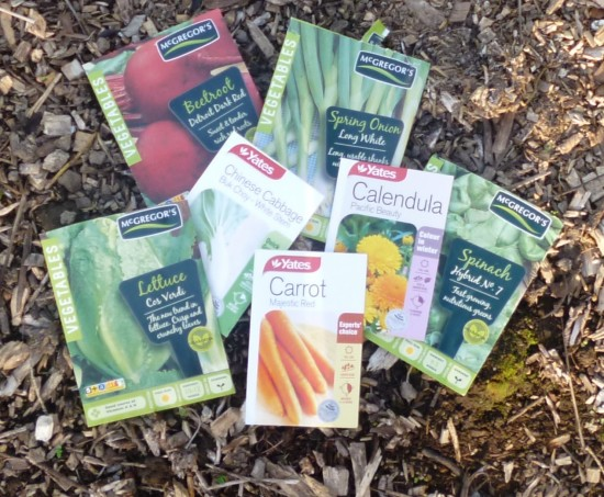 these are all seeds which you can sow outside now